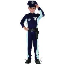 Dětský karnevalový kostým POLICISTA COLOMBO 120 - 130cm ( 6 - 9 let )